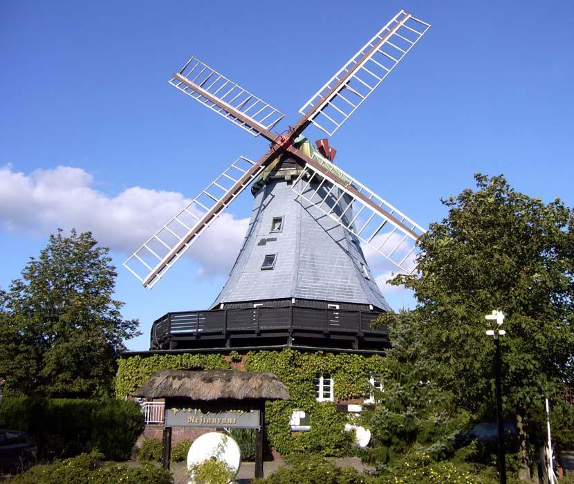 Pirsch Mühle von vorn